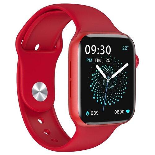 Умные часы IWO HW22 Series 6, красный