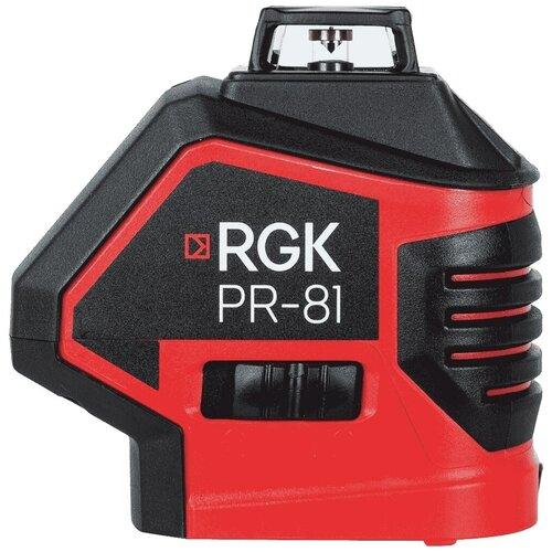Фото - Лазерный построитель плоскостей RGK PR-81 лазерный нивелир rgk pr 110