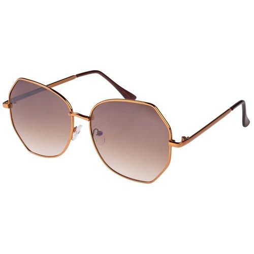 солнцезащитные очки Солнцезащитные очки женские/Очки солнцезащитные женские/Солнечные очки женские/Очки солнечные женские/21kdgann901003c3vr коричневый/Vittorio Richi/Прямоугольные/модные