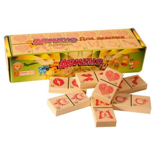 Настольная игра Теремок (Пелси) Домино для девочек настольная игра домино пазл для малышей для девочек