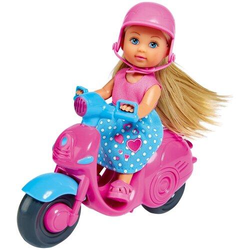 Кукла Simba Еви на скутере, 12 см, 5733345
