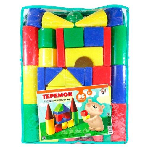 Купить Кубики Десятое королевство Теремок-36 02635, Детские кубики