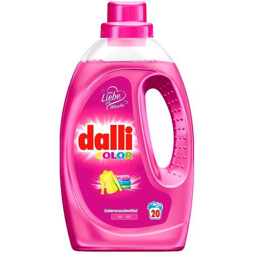 Фото - Гель для стирки Dalli Color для цветного белья, 1.1 л, бутылка гель для стирки dalli sport