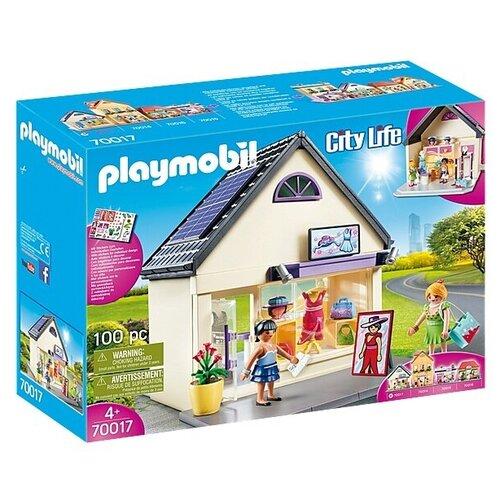 Набор с элементами конструктора Playmobil City Life 70017 Мой бутик одежды