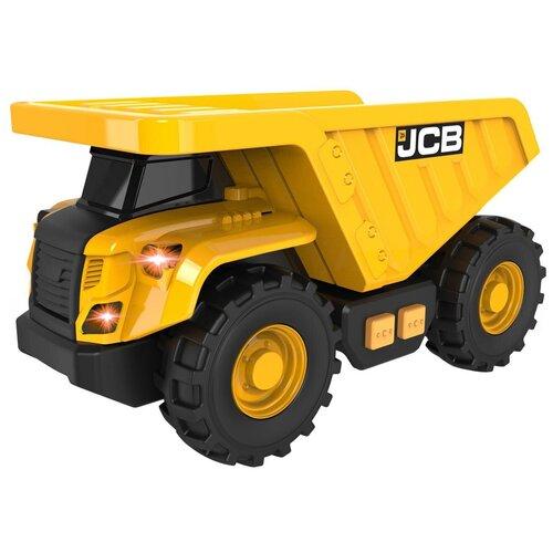 Фото - Грузовик HTI JCB (1417129), 12 см, желтый погрузчик hti jcb 1416620 желтый