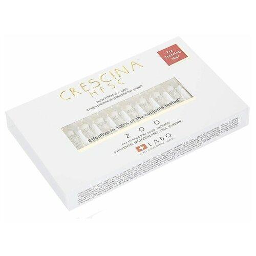 Купить Crescina Ампулы для стимуляции роста волос для женщин, дозировка 200, 3.5 мл, 10 шт.