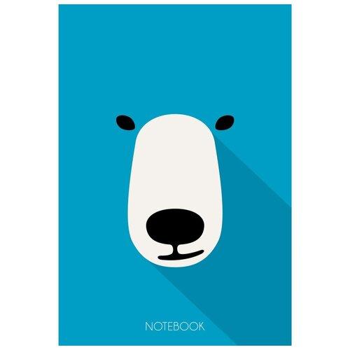 Купить Блокнот А6 40л клетка, склейка, обл.карт. Медведь БСК64015 4 штуки, Канц-Эксмо, Блокноты и записные книжки