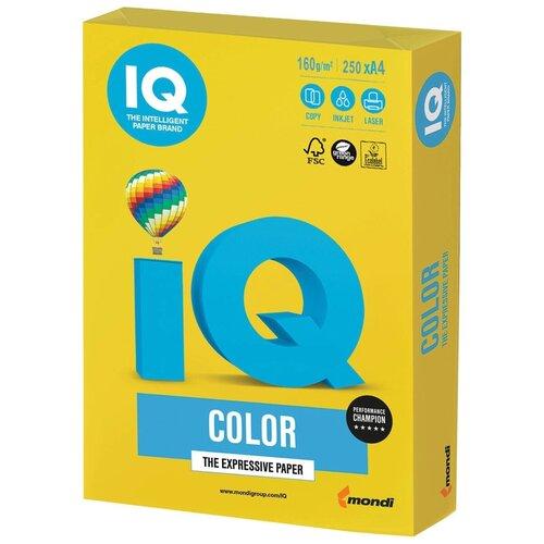 Фото - Бумага IQ Color А4 160 г/м² 250 лист., горчичный IG50 бумага iq color а4 160 г м² 250 лист 5 пачк золотистый go22