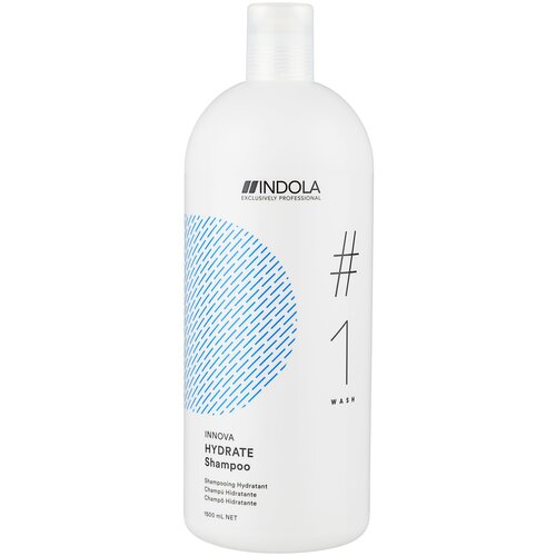 Indola шампунь Innova Hydrate #1 wash, 1.5 л недорого
