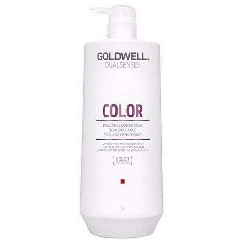 Купить Goldwell Dualsenses кондиционер Color brilliance conditioner для блеска окрашенных тонких и нормальных волос, 1000 мл
