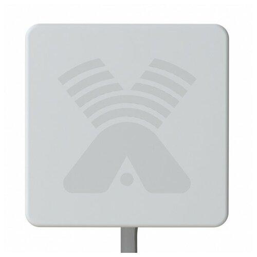 Антенна Zeta F MIMO 2x2 3G/4G панельная, усиление 17-20дБ 75 Ом