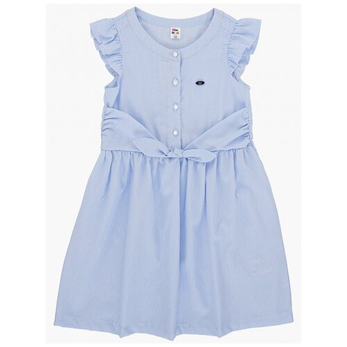 Платье Mini Maxi, 4702, цвет голубой, размер 140