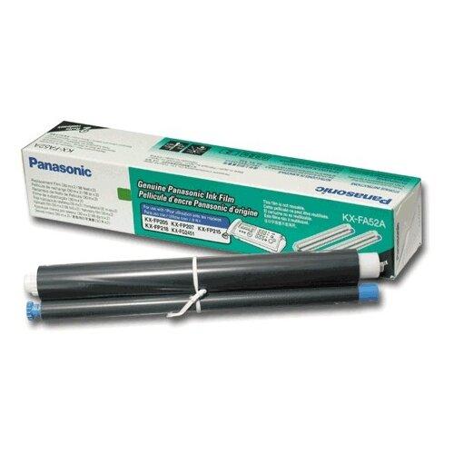 Термопленка для факса PANASONIC KX-FP205/207/215/218/FC228 KX-FG2451 (KX-FA52A) КОМПЛЕКТ 2 шт., оригинальная