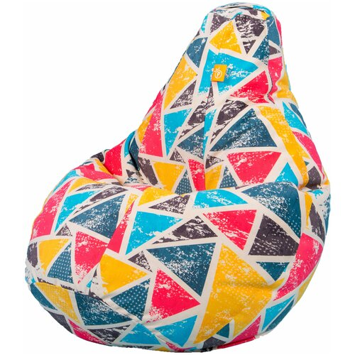 Кресло-мешок Palermo груша микровелюр эксклюзивный принт - дисней