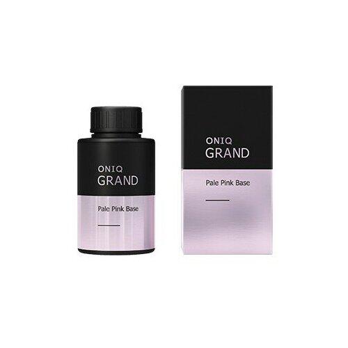 ONIQ базовое покрытие Retouch GRAND Base 30 мл pale pink oniq базовое покрытие grand 900 standart base 30 мл прозрачный