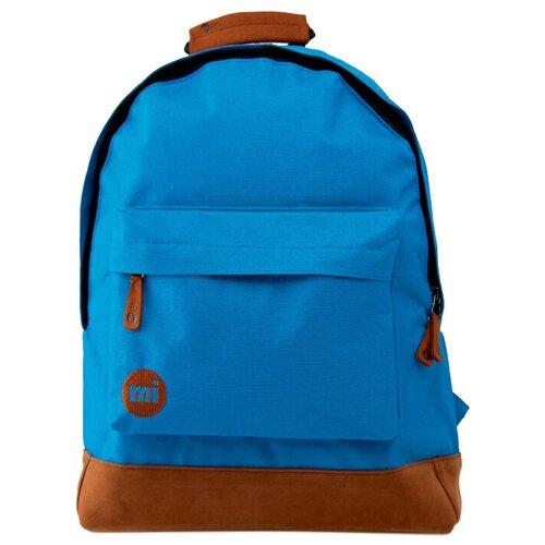 Городской рюкзак mi pac Classic 17, синий, коричневый