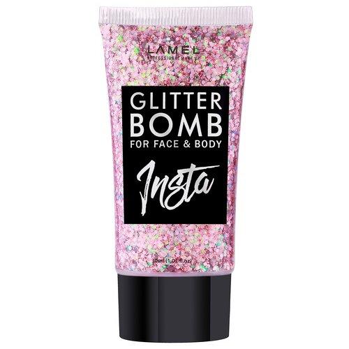 Купить Lamel Professional Жидкий глиттер для макияжа INSTA Glitter Bomb 403