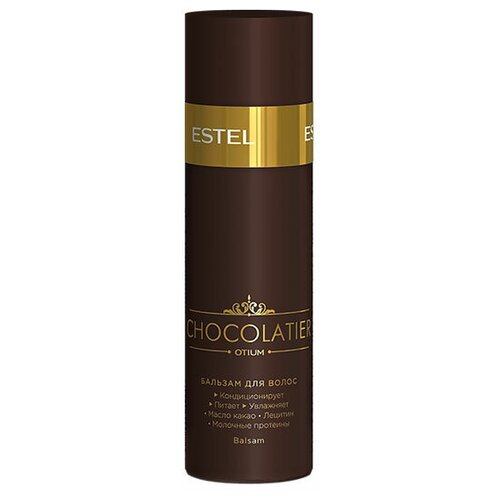 Фото - ESTEL бальзам Otium Chocolatier, 200 мл estel professional бальзам otium chocolatier белый шоколад 200 мл