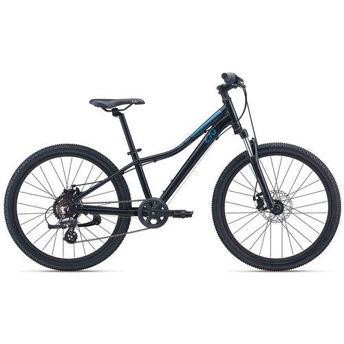 Фото - Велосипед Giant Enchant 24 Disc (2021) черный (требует финальной сборки) велосипед giant escape 3 disc 2021 металик черный m