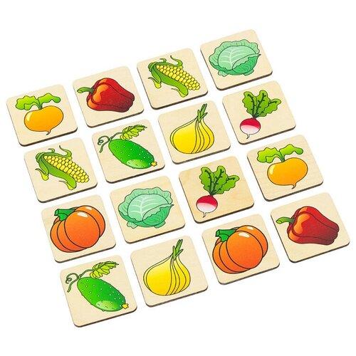 Купить Настольная игра Aalatoys Мемори Овощи, Настольные игры
