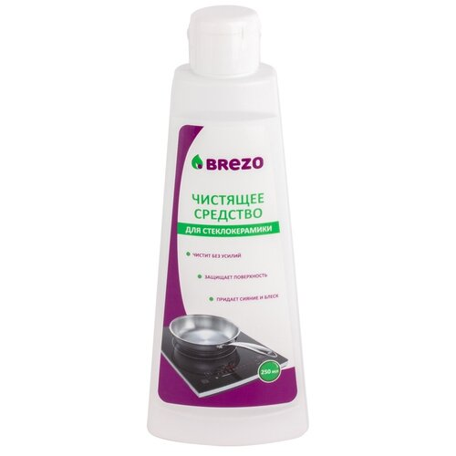 Фото - Чистящее средство для стеклокерамики BREZO, 250 мл средство для микроволновых печей brezo 97041