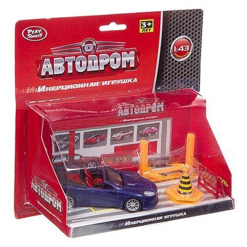 Купить Маш. метал. Автодром, Play Smart, PVC 21х20х9 см., арт. 6188C, Машинки и техника