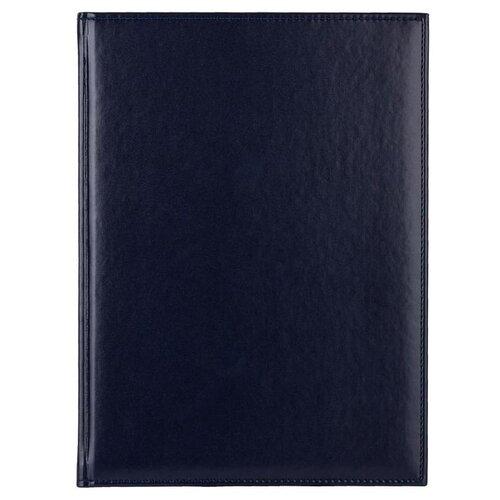Купить Ежедневник Attache Каньон недатированный, искусственная кожа, А4, 72 листов, синий, Ежедневники