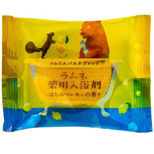 Фото - Charley Sommelier Соль-таблетка для ванн с ароматом меда и лимона, 40 г добропаровъ соль для ванн с маслом ели 3005701 300 г