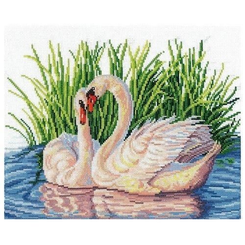 Купить Набор для вышивания Сделай своими руками из хлопка, Пара лебедей , 26*19, 5 см (61661783672), Наборы для вышивания