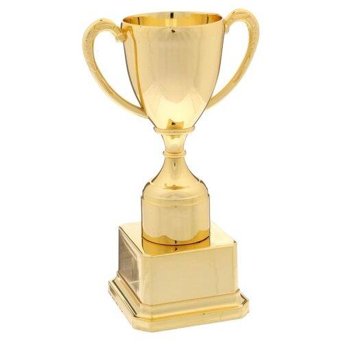 Кубок спортивный 112 подставка зол, 18 x 7.5 x 5.5 cм 1836944 по цене 267