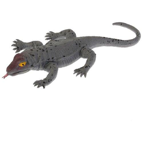 Игрушка-мялка Играем вместе Комодский варан W6328-69BT-R серый