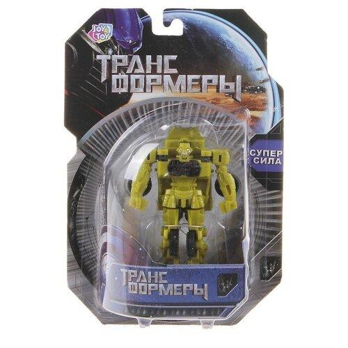 Купить Трансформер Joy Toy Носорог 8081 желтый, Роботы и трансформеры