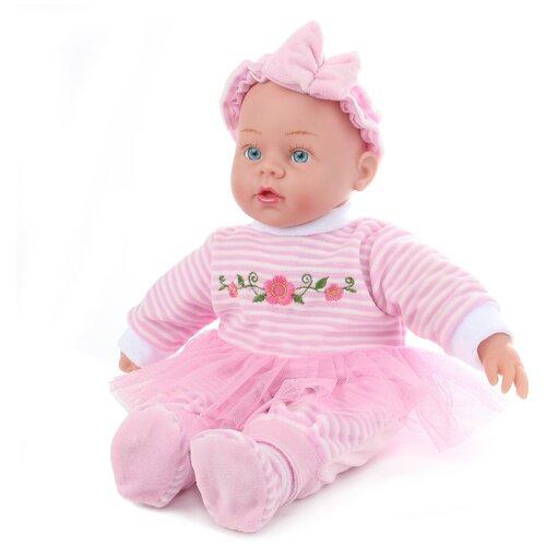 lisa jane пупс 25 см 59458 Интерактивный пупс Lisa Doll в розовом костюмчике, 40 см, 83361