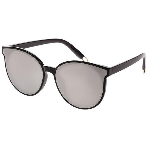Солнцезащитные очки женские/Очки солнцезащитные женские/Солнечные очки женские/Очки солнечные женские/21kdgprin1803c2vr черный,сербристый/Vittorio Richi/Кошачий глаз/модные