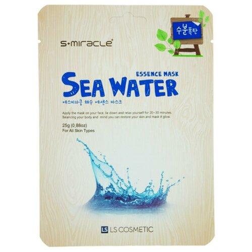 LS Cosmetic тканевая маска s+miracle с морской водой, 25 г