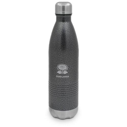 Термо-бутылка SUNFLOWER 0.75 л Gray