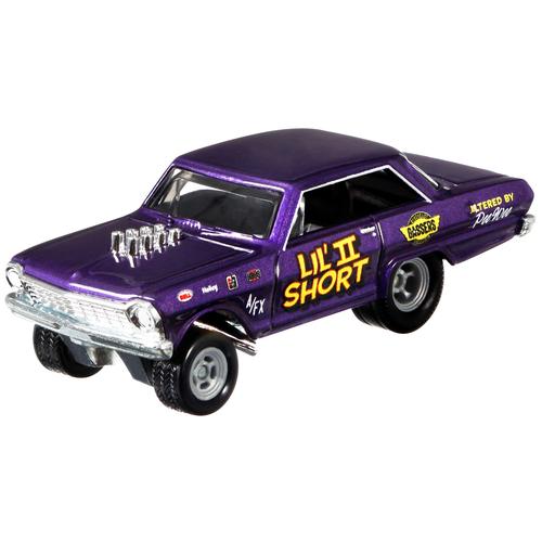 Гоночная машина Hot Wheels Boulevard '63 Chevy Nova (GJT68/GRL99) 1:64, фиолетовый металлик
