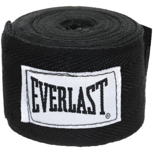 Кистевые бинты Everlast 4465 2,5 м черный