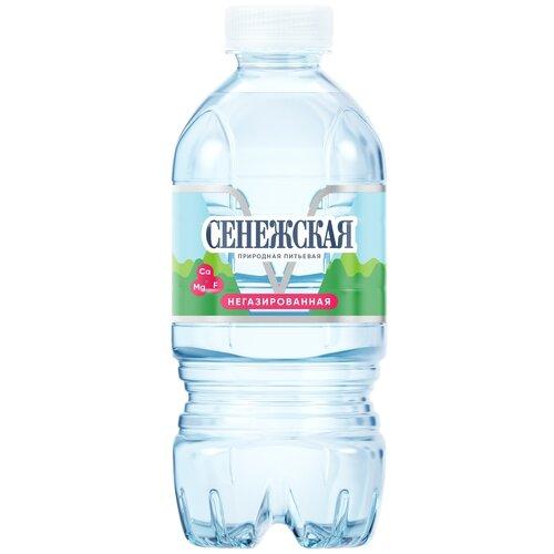Вода питьевая Сенежская негазированная, ПЭТ, 0.33 л вода минеральная сенежская негазированная пэт 1 5 л