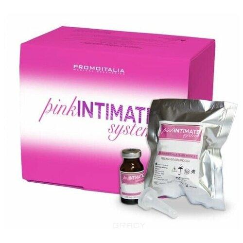 Инновационная пилинг-система для отбеливания и омоложения интимной зоны Promoitalia Pink Intimate System