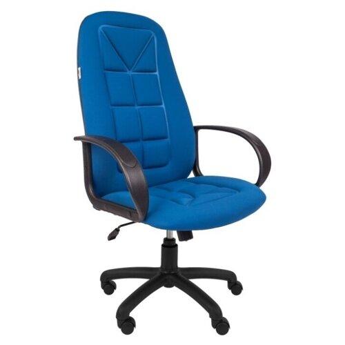 Компьютерное кресло Русские Кресла РК-127 для руководителя, обивка: текстиль, цвет: S синий