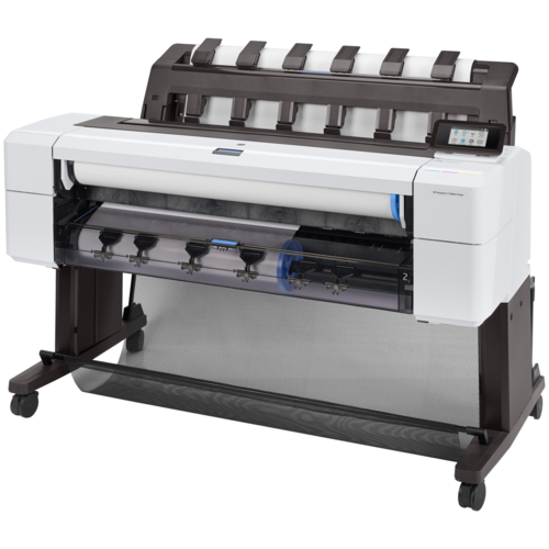 Принтер HP DesignJet T1600dr 36-in (3EK12A), белый/черный