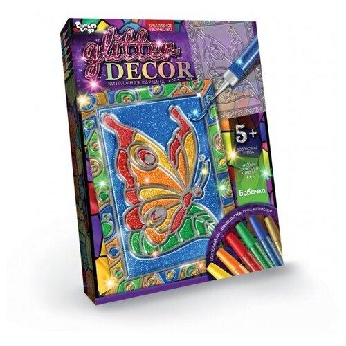 Набор креативного творчества «Витражная картина» Бабочка