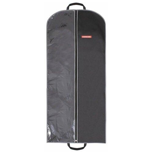 Фото - HAUSMANN Чехол для одежды HM-701402 60x140 см черный hausmann чехол для верхней одежды hm 701403 140x60 см черный