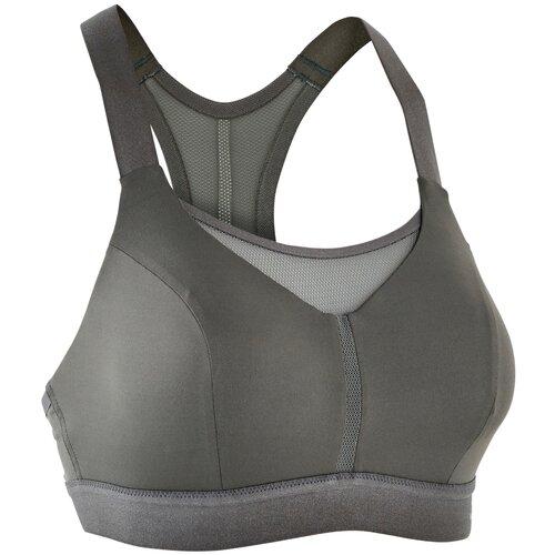 Топ для бега женский COMFORT хаки, размер: S CD, цвет: Серый Хаки/Серый Хаки/Серый Хаки KALENJI Х Декатлон