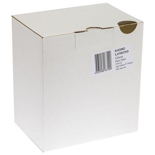 Фото - Бумага Lomond A6 0102082 230 г/м2 500 лист, белый бумага lomond a6 0102082 230 г м2 500 лист