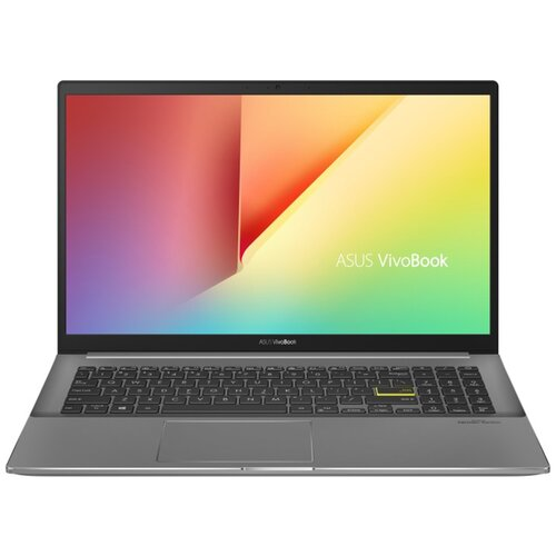 "Ноутбук ASUS VivoBook S15 S533EA-BN149T (Intel Core i5 1135G7 2400MHz/15.6""/1920x1080/8GB/512GB SSD/DVD нет/Intel Iris XE Graphics/Wi-Fi/Bluetooth/Windows 10 Home) 90NB0SF3-M03770 черный"
