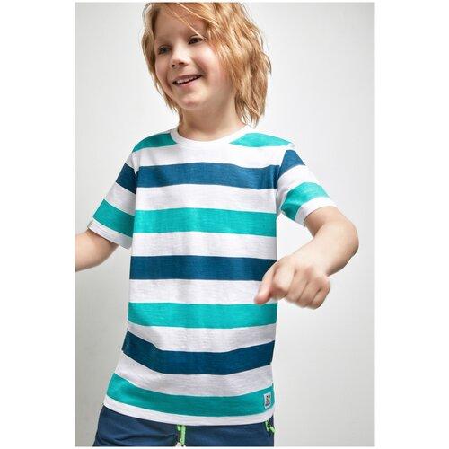 Фото - Футболка для мальчиков размер 158, полоска, ТМ Acoola, арт. 20110110283 футболка acoola размер 158 белый