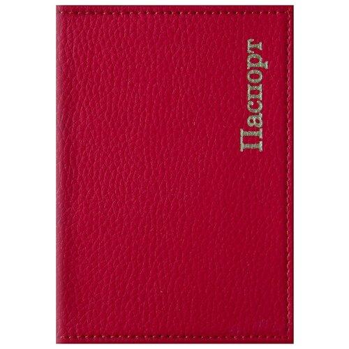 Обложка для паспорта OfficeSpace Комфорт, красный