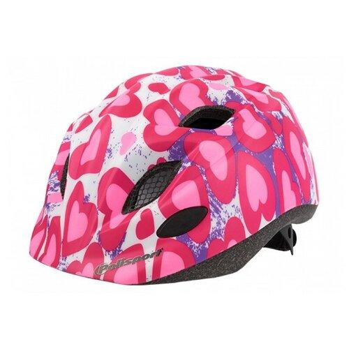 Фото - Велошлем детский Polisport JUNIOR GLITTER HEARTS S (52-56 cm) Розовый крылья комплект 20 24 polisport colorado junior